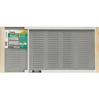 AWS1207 Martin Adjustable Louvered Screen Window With Ventilator screen window