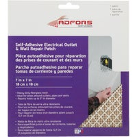 FDW6503-U FibaTape Electrical Outlet Drywall Patch drywall patch