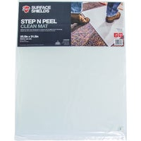 DG30WM Surface Shields Step N Peel Clean Mat Floor Protector floor protector