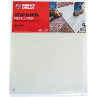 DGRCM Surface Shields Step N Peel Clean Mat Floor Protector Refill Sheets floor protector