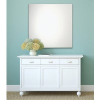 20-1364 Erias Home Designs Frameless Polished Edge Wall Mirror mirror wall