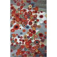 11824 416 60X96 Mohawk Home Tossed Floral Multi Rug