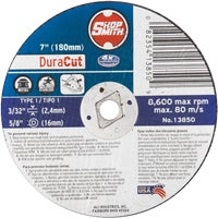 13850 Shop Smith DuraCut Type 1 Cut-Off Wheel cut off wheel