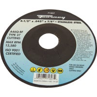 71807 Forney Type 27 Cut-Off Wheel cut forney off type wheel