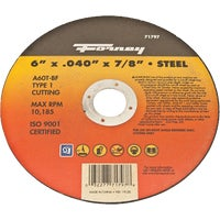 71797 Forney Type 1 Cut-Off Wheel cut forney off type wheel