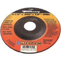 71800 Forney Type 27 Cut-Off Wheel cut forney off type wheel
