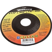 71793 Forney Type 27 Cut-Off Wheel cut forney off type wheel