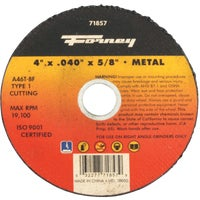 71857 Forney Type 1 Cut-Off Wheel cut forney off type wheel