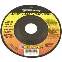 71801 Forney Type 27 Cut-Off Wheel cut forney off type wheel