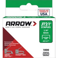 214 Arrow JT21 Light Duty Staple 214, Arrow JT21 Light Duty Staple