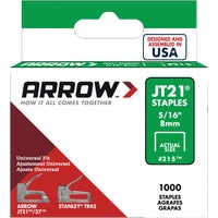 215 Arrow JT21 Light Duty Staple 215, Arrow JT21 Light Duty Staple