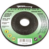71897 Forney Type 27 Cut-Off Wheel cut forney off type wheel