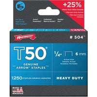 50424 Arrow T50 Heavy-Duty Staple 50424, Arrow T50 Heavy-Duty Staple