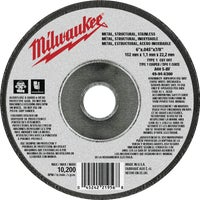 49-94-6300 Milwaukee Type 1 Cut-Off Wheel cut milwaukee off type wheel