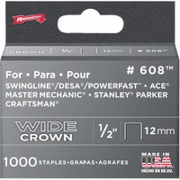 60830 Arrow Heavy-Duty Wide Crown Staple 60830, Arrow Heavy-Duty Wide Crown Staple