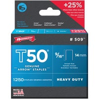 50924 Arrow T50 Heavy-Duty Staple 50924, Arrow T50 Heavy-Duty Staple