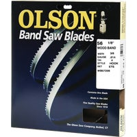 WB57256DB Olson Wood Cutting Band Saw Blade 57256, 57256 Olson Band Saw Blade