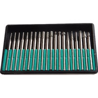 60238 Forney 20-Piece Diamond Burr Point Set