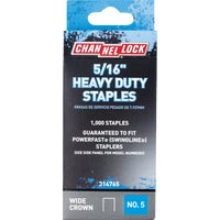 314765 Channellock No. 5 Heavy-Duty Wide Crown Staple channellock no.