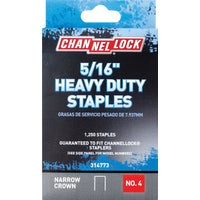 314773 Channellock No. 4 Heavy-Duty Narrow Crown Staple channellock no.