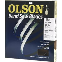 FB14593DB Olson Flex Back Band Saw Blade 14593, 14593 Olson Band Saw Blade