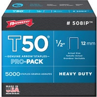 508IP Arrow T50 Heavy-Duty Staple 508IP, Arrow T50 Heavy-Duty Staple