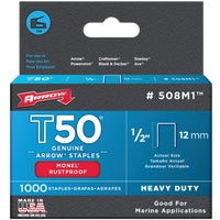 508M1 Arrow T50 Heavy-Duty Monel Staple 508M1, Arrow T50 Heavy-Duty Monel Staple