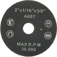 36533 Weiler Vortec Type 1 Abrasive Cut-Off Wheel cut off wheel