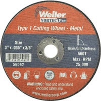 36536 Weiler Vortec Type 1 Abrasive Cut-Off Wheel cut off wheel