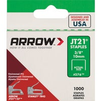 276 Arrow JT21 Light Duty Staple 276, Arrow JT21 Light Duty Staple