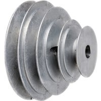 141-6 Chicago Die Casting V-Step Die Cast Pulley 141-6, V-Step Cone Pulley
