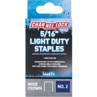 346673 Channellock No. 2 Light Duty Wide Crown Staple