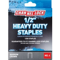 346708 Channellock No. 4 Heavy-Duty Narrow Crown Staple channellock no.