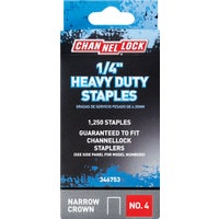 346753 Channellock No. 4 Heavy-Duty Narrow Crown Staple channellock no.