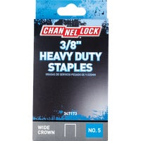 347173 Channellock No. 5 Heavy-Duty Wide Crown Staple channellock no.