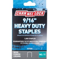 347404 Channellock No. 11 Power Crown Staple channellock no.