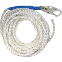 A8150T Fall Tech Lifeline A8150T, 50 Polysteel Rope with Snap-Hook