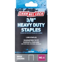 347789 Channellock No. 6 Heavy-Duty Wide Crown Staple channellock no.