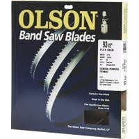 FB10093DB Olson Flex Back Band Saw Blade 10093, 10093 Olson Band Saw Blade