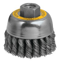 DW4915 DeWalt HP Angle Grinder Wire Brush DW4915, DeWalt Cup Angle Grinder Wire Brush