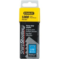 TRA705T Stanley SharpShooter Heavy-Duty Narrow Crown Staple TRA705T, Stanley SharpShooter Heavy-Duty Narrow Crown Staple
