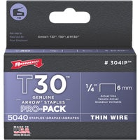 304IP Arrow T30 Thin Wire Staple 304IP, Arrow T30 Thin Wire Staple