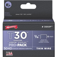 305IP Arrow T30 Thin Wire Staple 305IP, Arrow T30 Thin Wire Staple