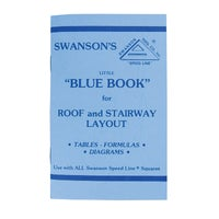 P0110 Swanson Rafter Square Book P0110, Rafter Square Book