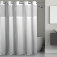 RBH40MY223 SureFit EZ-On Hookless Shower Curtain With PEVA Liner curtain shower