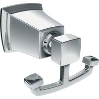 Y3203CH Moen Boardwalk Double Robe Hook hook robe