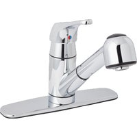 FP1C4200CP-JPA1 Home Impressions Pull-Out Kitchen Faucet With Soft Rubber Nubs faucet kitchen