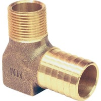 RBHENL100 Low Lead Brass Barbed Elbow Hydrant RBHENL100, Low Lead Brass Barbed Elbow Hydrant