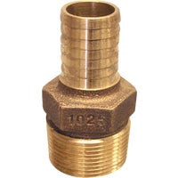 RBMANL1075 Low Lead Brass Hose Barb Adapter RBMANL1075, Low Lead Brass Hose Barb Adapter