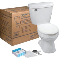 4388CTK Mansfield Summit ADA SmartHeight Toilet Kit 4388CTK, Summit Round Front ADA SmartHeight Toilet